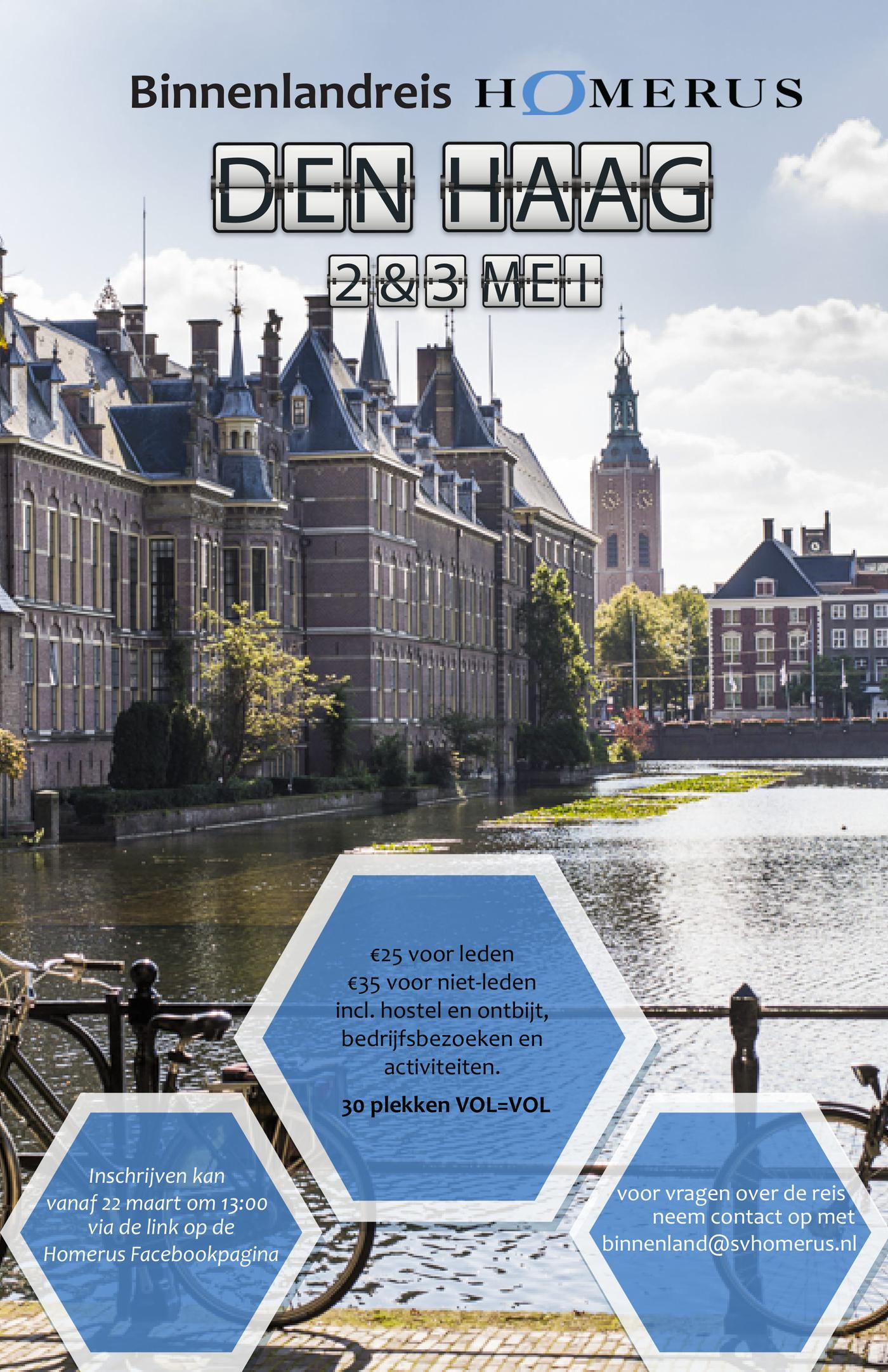 Binnenlandreis Den Haag