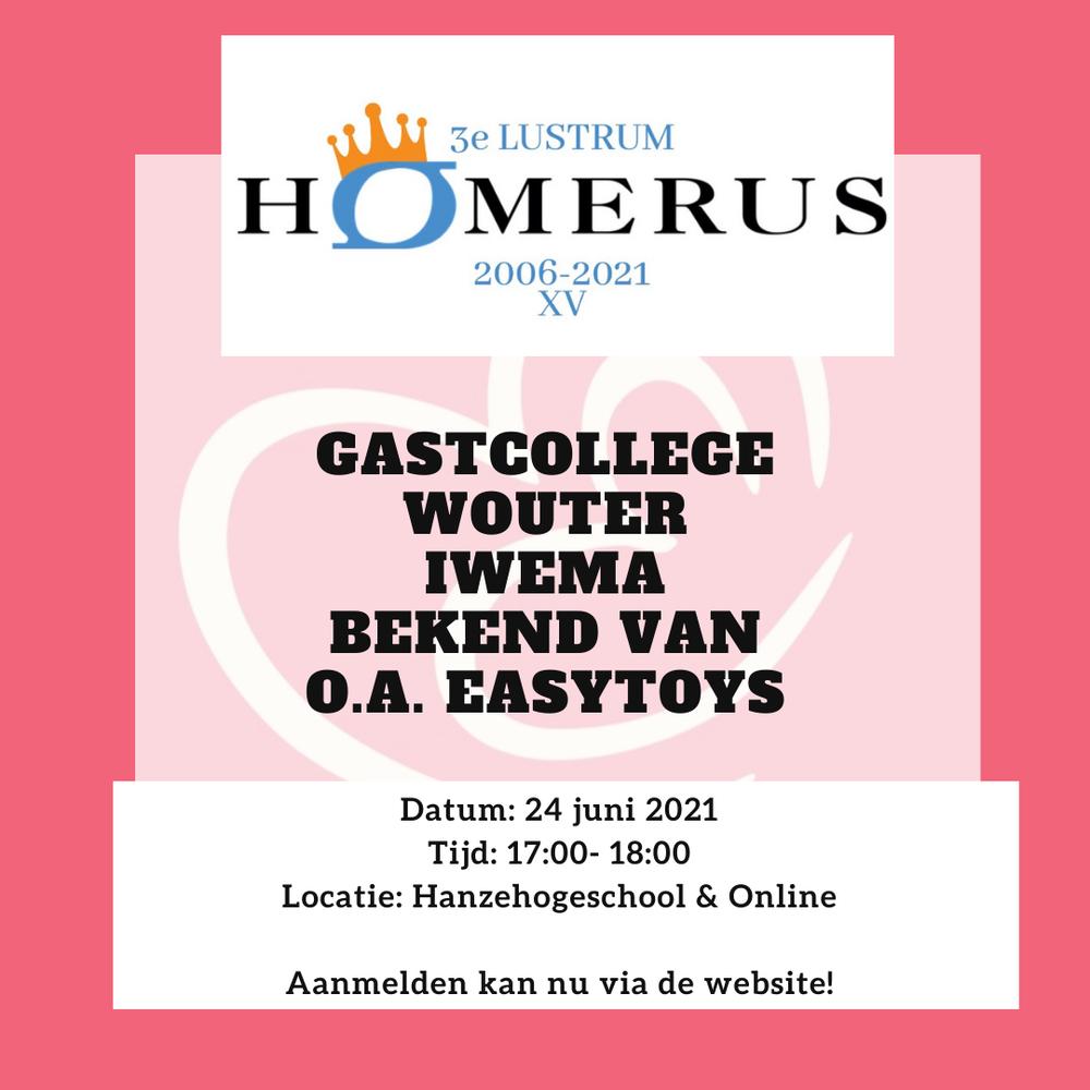 Gastcollege Wouter Iwema