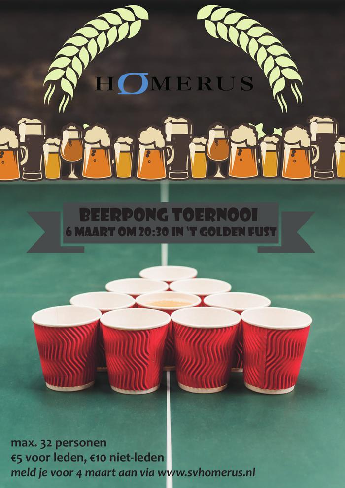 Beerpong toernooi